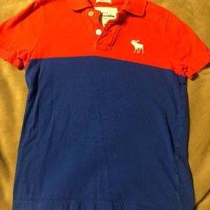 Abercrombie Polo style knit M